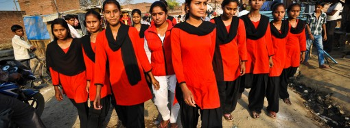 The Red Brigade: the women of India fight back