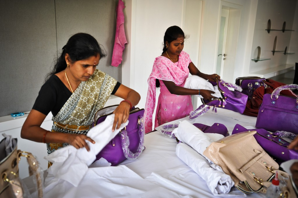 Inside The Indian Factory Where Workers Churn Out 200 Handbags Sported By Pippa Middleton For Just 17p An Hour