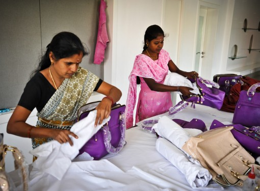 Inside the Indian factory where workers churn out £200 handbags sported by Pippa Middleton for just 17p an hour
