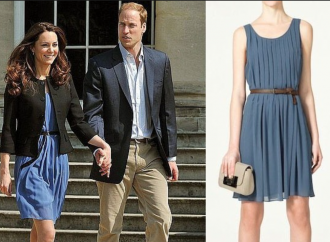 Were Kate's favourite dresses made in 6p an hour sweatshop?