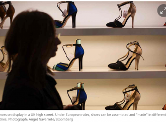 The expensive 'Italian' shoes made for a pittance in east European sweatshops