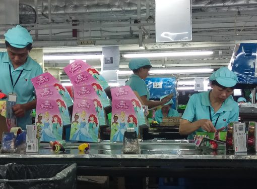 The grim truth of Chinese factories producing the West's Christmas toys
